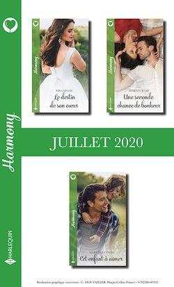 Pack mensuel Harmony : 3 romans (Juillet 2020)