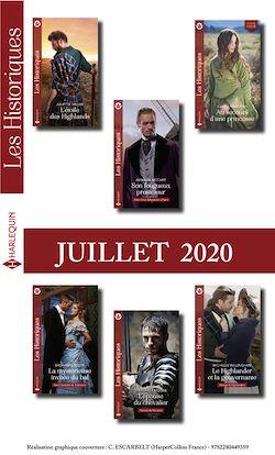 Pack mensuel Les Historiques : 6 romans (Juillet 2020)