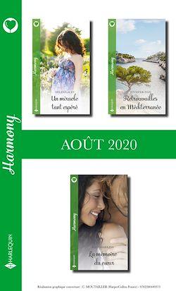 Pack mensuel Harmony : 3 romans (Août 2020)