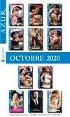 Pack mensuel Azur : 11 romans + 1 gratuit (Octobre 2020)