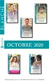 Pack mensuel Blanche : 10 romans + 1 gratuit (Octobre 2020)