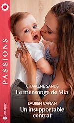 Download this eBook Le mensonge de Mia - Un insupportable contrat
