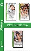 Télécharger le livre :  Pack mensuel Harmony : 3 romans (Décembre 2020)