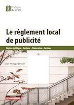 Download this eBook Le règlement local de publicité