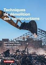 Téléchargez le livre :  Techniques de démolition des constructions
