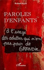 Download this eBook Paroles d'enfants