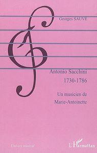 Téléchargez le livre :  Antonio Sacchini