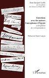 Télécharger le livre :  Entretiens avec des auteurs francophones d'Egypte
