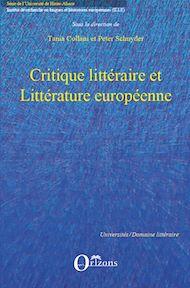 Téléchargez le livre :  Critique littéraire et Littérature européenne