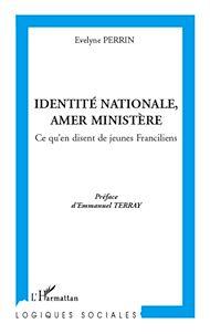 Téléchargez le livre :  Identité nationale, amer Ministère