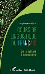 Download this eBook Cours de linguistique du français