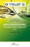 Télécharger le livre :  Sortir du sous-développement : quelles nouvelles pistes pour l'Afrique de l'Ouest ? (Tome 1)