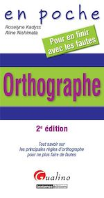 Download this eBook En poche - Orthographe - 2e édition