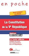Télécharger le livre :  La Constitution de la Ve République 2013-2014