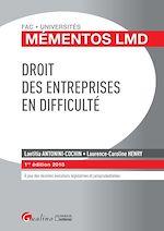 Download this eBook Droit des entreprises en difficulté 2018 - 1e édition