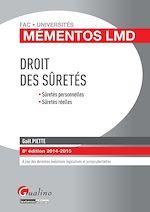 Download this eBook Droit des sûretés 2014-2015 - 8e édition