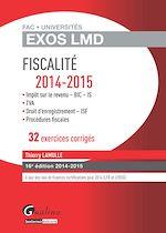 Download this eBook Exos LMD - Fiscalité 2014-2015 - 16e édition