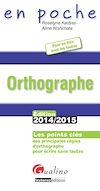 En poche - Orthographe 2014-2015