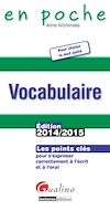 En poche - Vocabulaire 2014-2015
