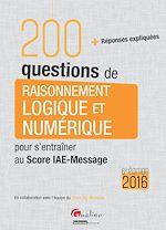 Download this eBook 200 questions de raisonnement logique et numérique - 6e édition 2016