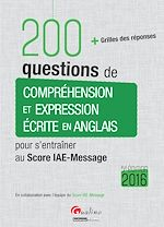 Download this eBook 200 questions de compréhension et expression écrite en anglais - 5e édition 2016