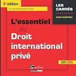 Download this eBook L'essentiel du droit international privé - 5e édition 2015-2016