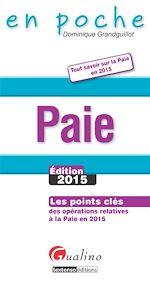 Télécharger cet ebook : En poche - Paie2015
