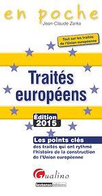 Télécharger cet ebook : En poche - Traités européens 2015