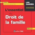 Download this eBook L'essentiel du droit de la famille - 15e édition 2016-2017