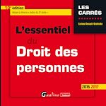 Download this eBook L'essentiel du droit des personnes - 10e édition 2016-2017