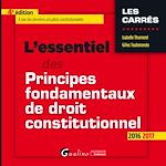 Download this eBook L'essentiel des principes fondamentaux de droit constitutionnel - 4e édition 2016-2017