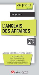Download this eBook En poche - L'anglais des affaires 2016-2017 - 6e édition