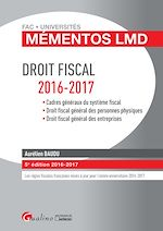 Download this eBook Mémentos LMD - Droit fiscal - 5e édition 2016-2017