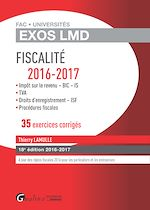 Download this eBook Exos LMD - Fiscalité 2016-2017 - 18e édition