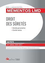 Download this eBook Mémentos LMD - Droit des sûretés - 10e édition 2016-2017