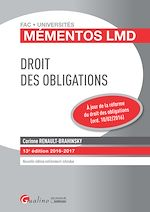Download this eBook Mémentos LMD - Droit des obligations - 13e édition 2016-2017