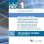 Download this eBook Les Carrés DEC 1 - QRC et QCM corrigées - Réglementation professionnelle et déontologie de l'expert-comptable et du commissaire aux comptes 2016