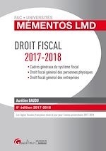 Download this eBook Mémentos LMD - Droit fiscal 2017-2018 - 6e édition
