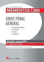 Download this eBook Mémentos LMD - Droit pénal général 2017-2018 - 12e édition
