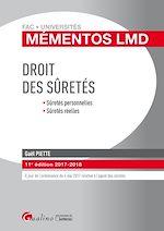 Download this eBook Mémentos LMD - Droit des sûretés 2017-2018 - 11e édition