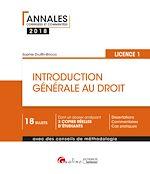 Download this eBook Introduction générale au droit 2018 - L1 - 2e édition