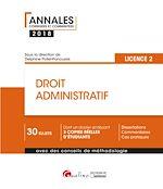 Download this eBook Droit administratif 2018 - L2 - 2e édition