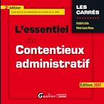 Download this eBook L'essentiel du contentieux administratif 2017 - 3e édition