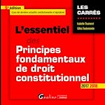 Download this eBook L'essentiel des principes fondamentaux de droit constitutionnel 2017-2018 - 5e édition