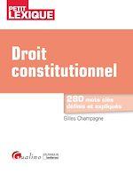 Download this eBook Droit constitutionnel - 5e édition