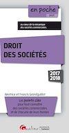 Télécharger le livre :  En poche - Droit des sociétés 2017-2018 - 9e édition