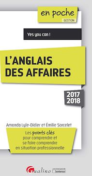 Téléchargez le livre :  En poche - L'anglais des affaires 2017-2018 - 7e édition