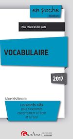 Download this eBook Vocabulaire 2017 - 5e edition