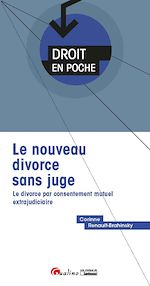 Download this eBook Le nouveau divorce sans juge