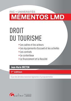 Download the eBook: Mémentos LMD - Droit du tourisme - 1e édition